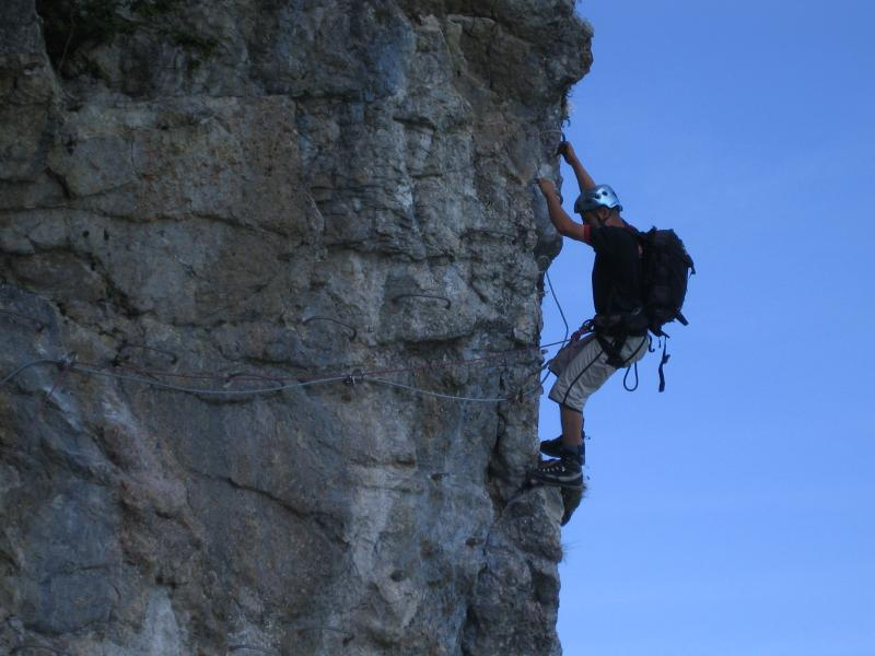 Via Ferrata de Moléson