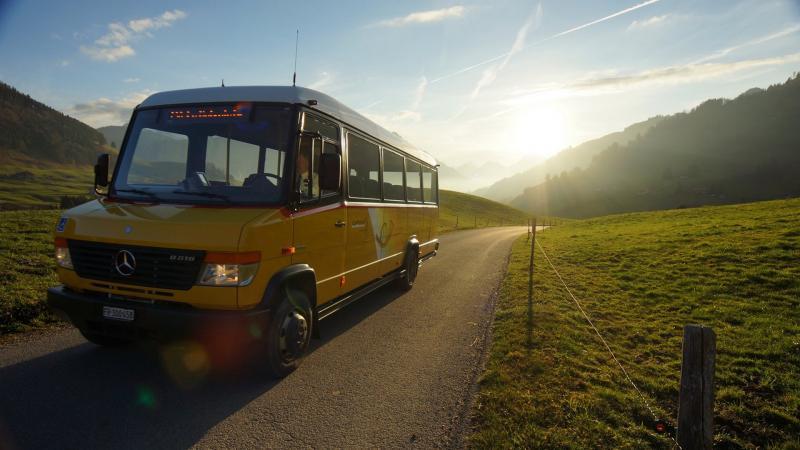 Bus alpin Charmey - La Valsainte