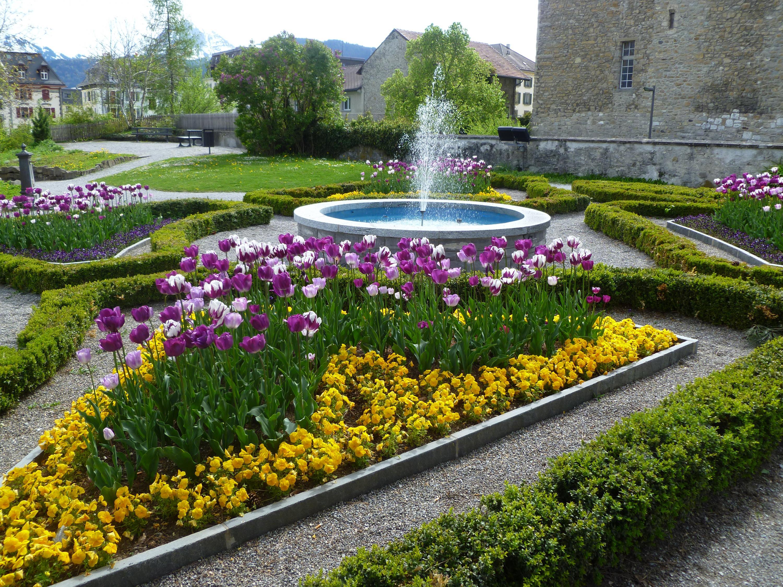11 Jardin Du Chateau 1722