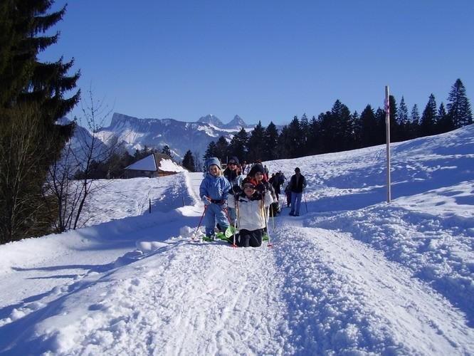 SNOWSHOES IN BULLE-GIBLOUX