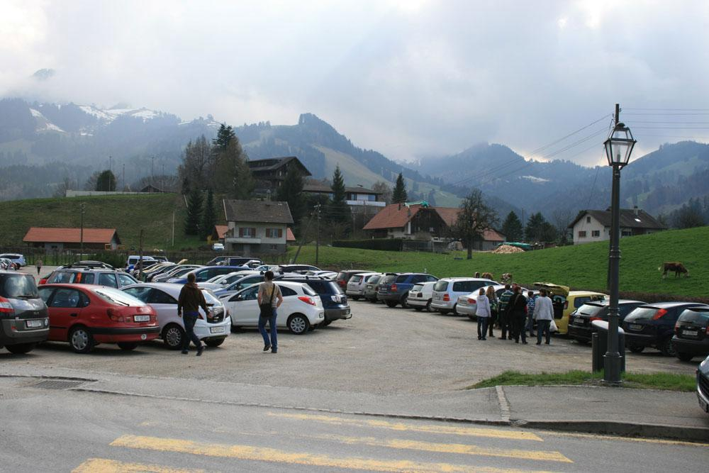 Gruyères - Parking P3