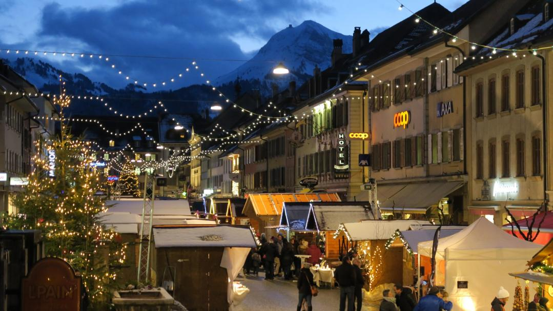 A new edition of the Christmas Market takes place in Bulle.