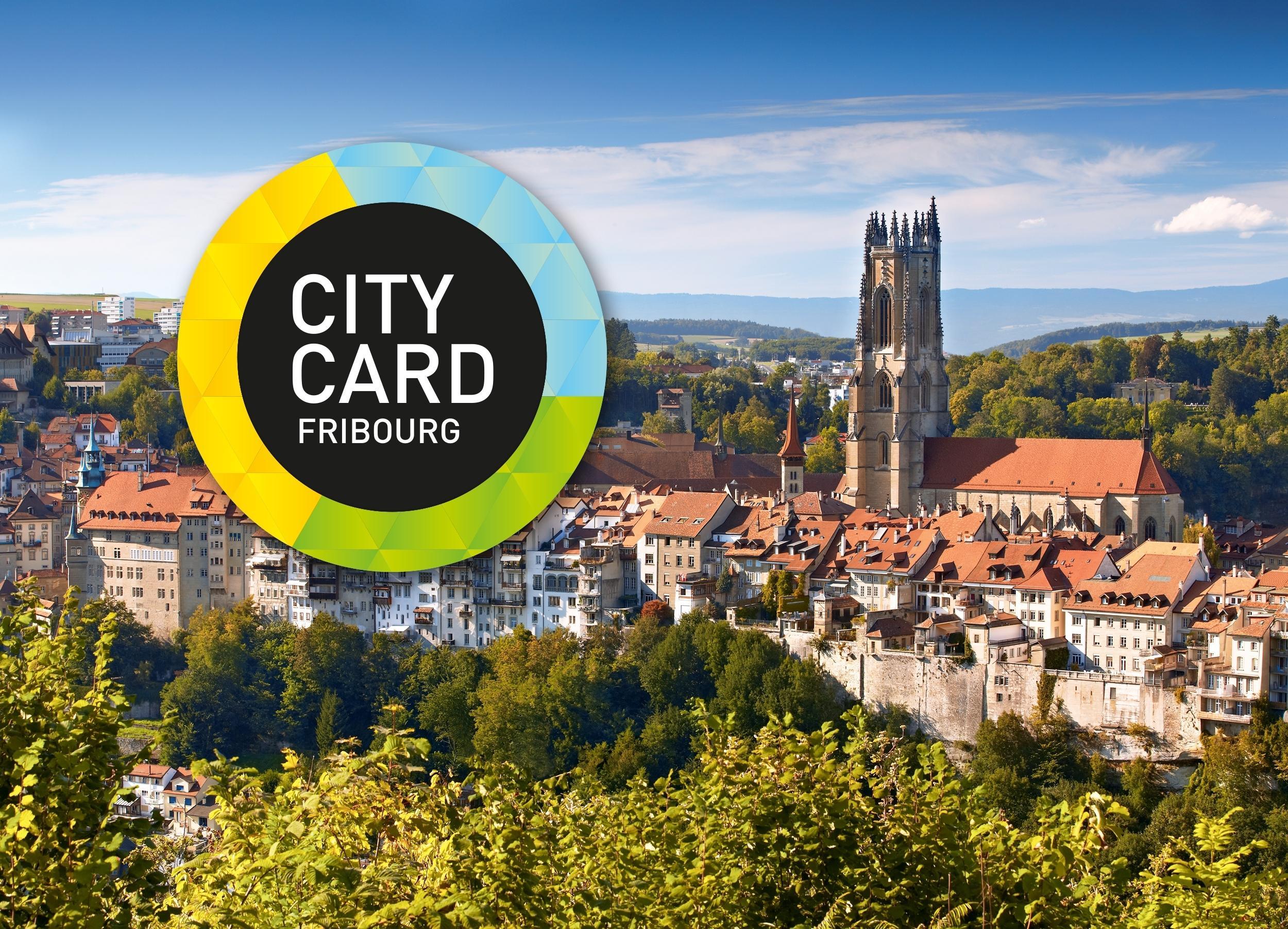 Fribourg City Card | Ganzes Freiburg an einem Tag für 20.-