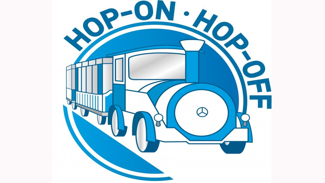 hop-on/hop-off Mini Zug