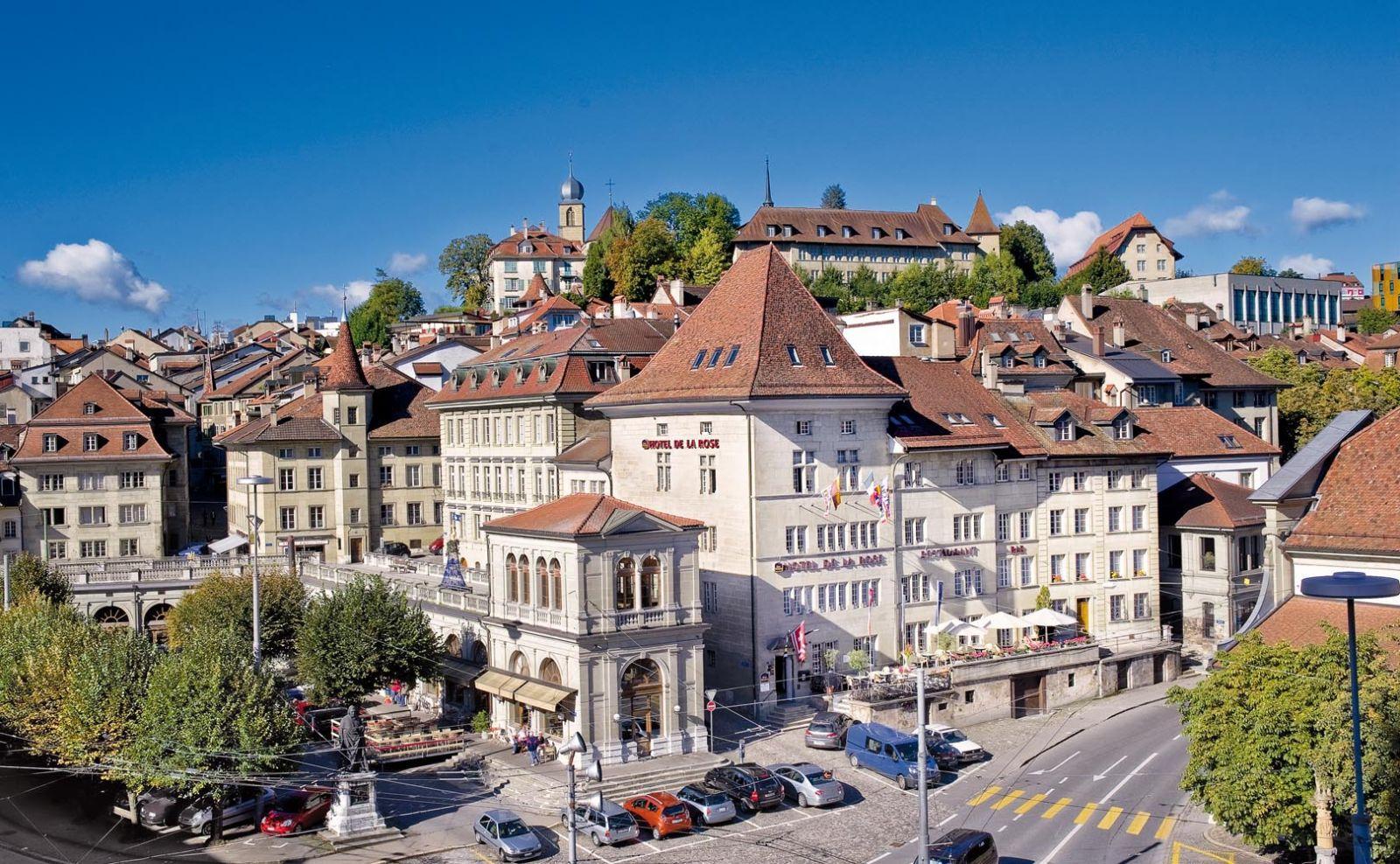 Hotel Fribourg Centre Ville