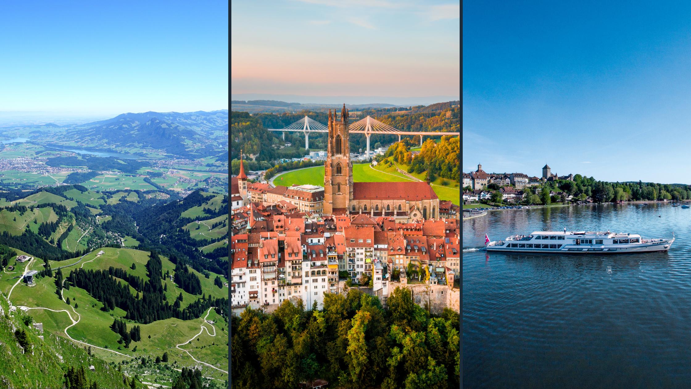 3 Regionen - Die DNA der Schweiz