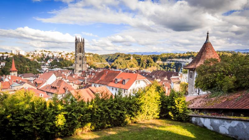 Fribourg - vue