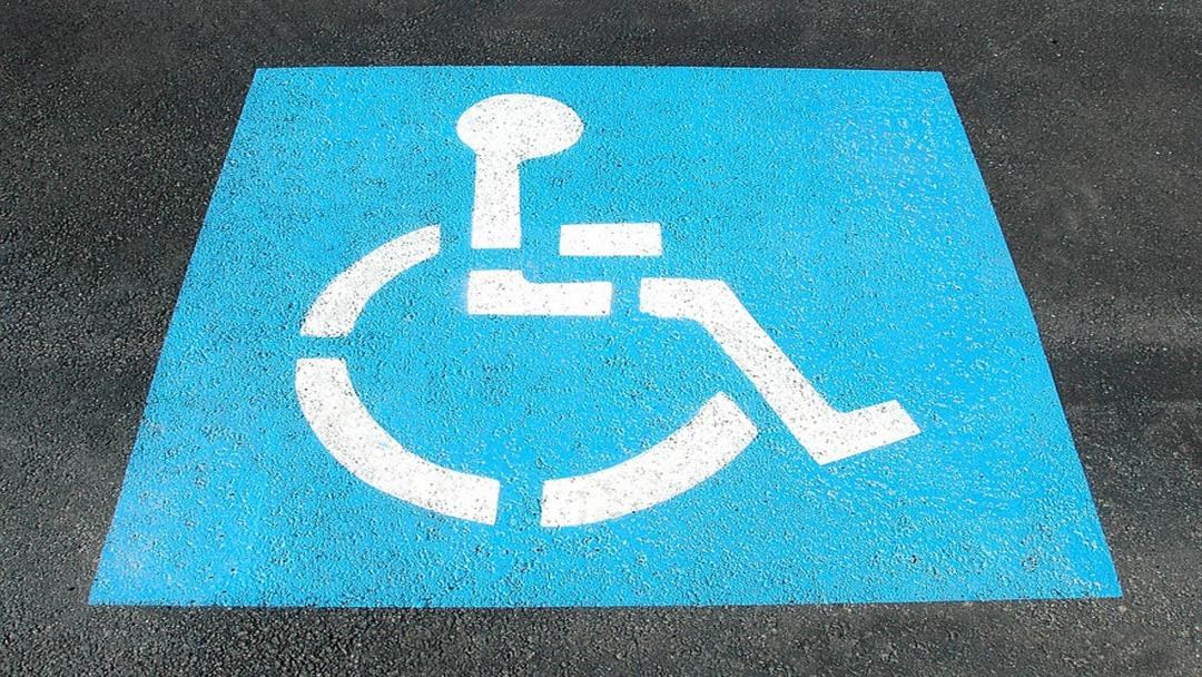 Park possibility for disabled