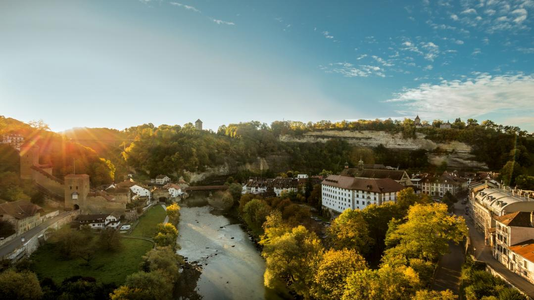 Autumn in Fribourg