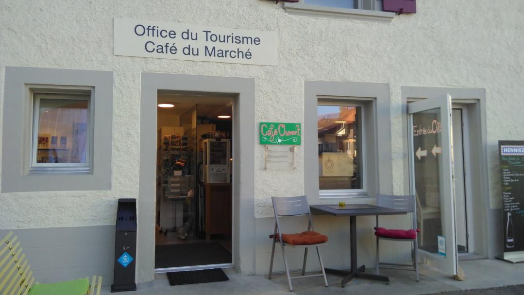 Tourism office in Payerne