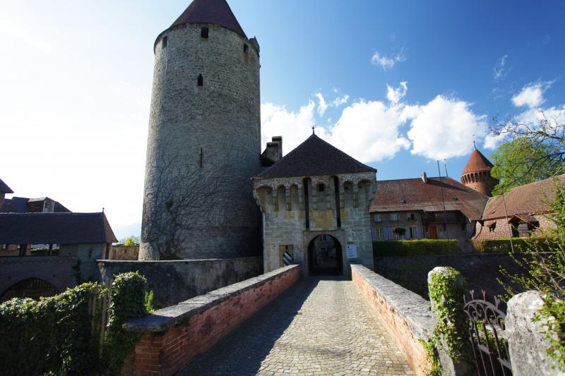 Chenaux castle in Estavayer