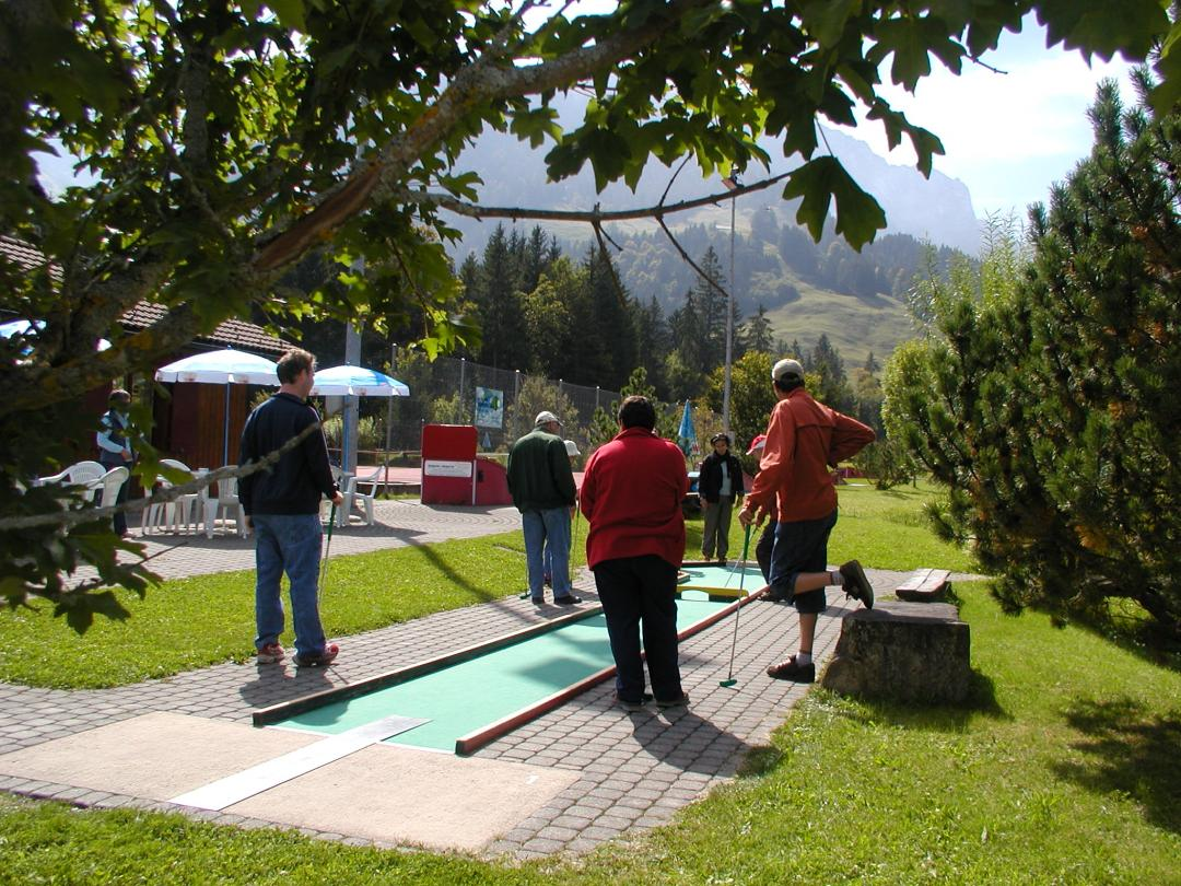Minigolf, Golf