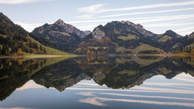 Schwarzsee in fall