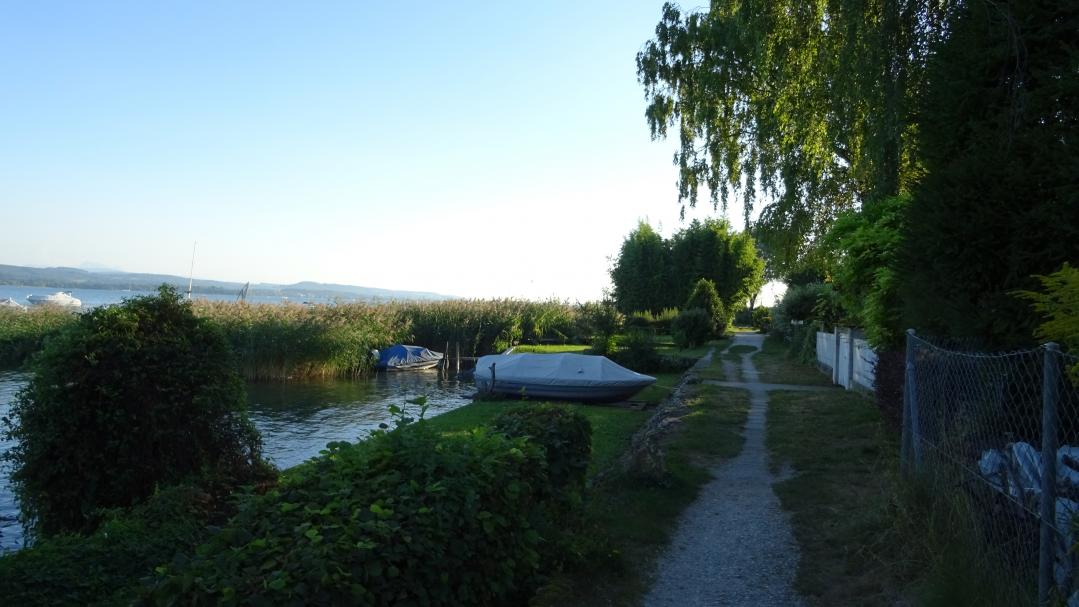 Path along Lake Murten