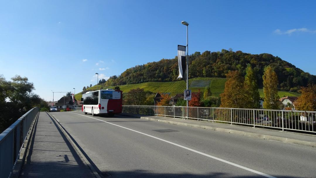 Bus line 530 in the Vully