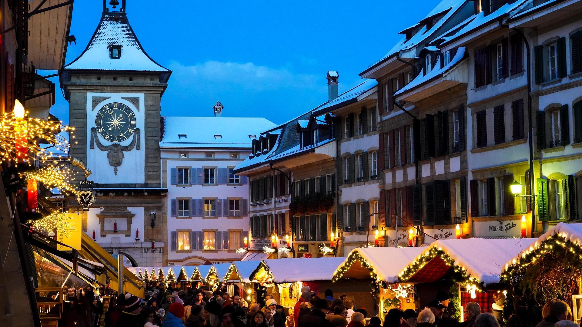 Bilder Weihnachtsmarkt.Murtner Weihnachtsmarkt