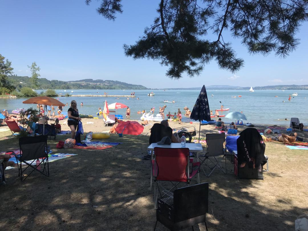 plage salavaux Mt Vully 2