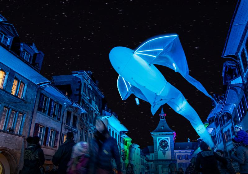 2019 Plakat Murten Light-Festival - horizontal
