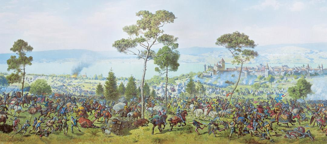The battle of Murten