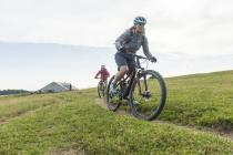 MTB on the Chasseral